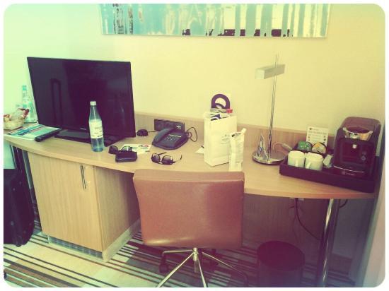 Mercure Hotel Köln Belfortstrasse: Kamer zag er erg netjes en verzorgd uit!