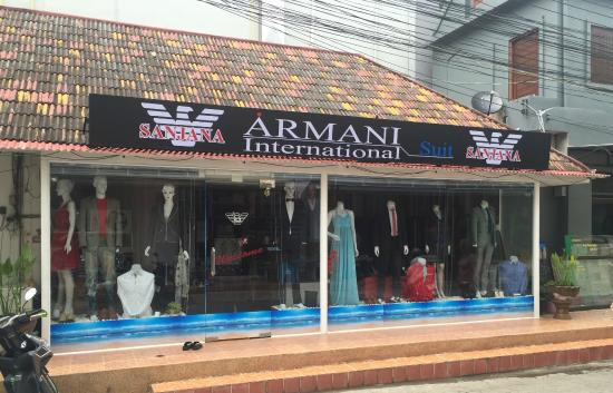Sanjana Armani International Suit