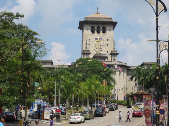 Johor Bahru State Place: 正面から