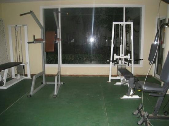 Daphne Bahia Beach: The gym