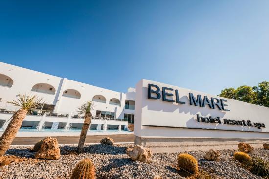 Bel Mare Hotel: Fasade