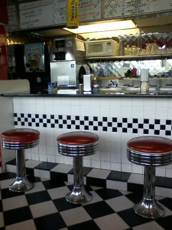 DJ's 50's and 60's Diner: Counter