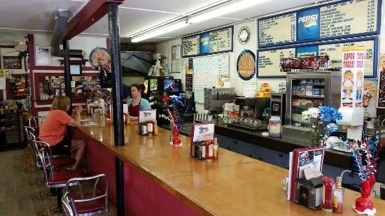 Rosie's Lovell Village Store : Rosie's counter