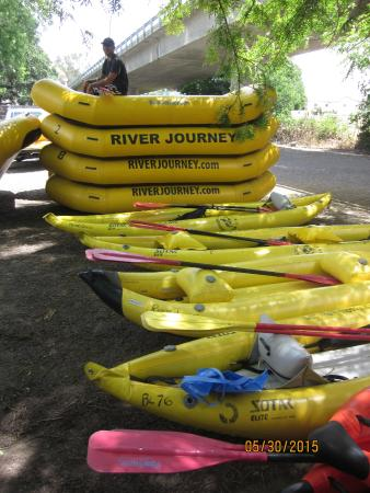 River Journey Adventures Day Tours: The starting point