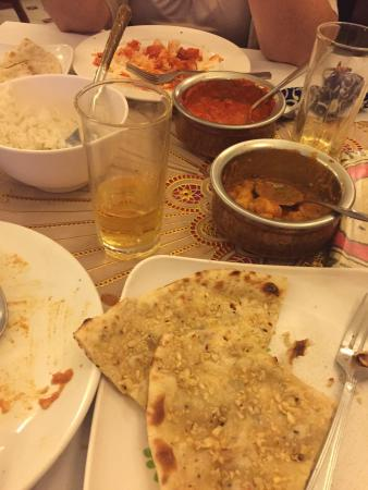 Taste of India : This is our left overs!!! Such big and delicious meals