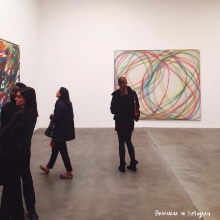 Gagosian Gallery: sprayed launch