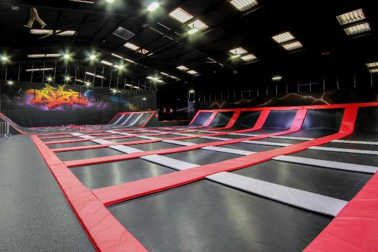 Dalkeith, UK: The Main Open Jump Arena