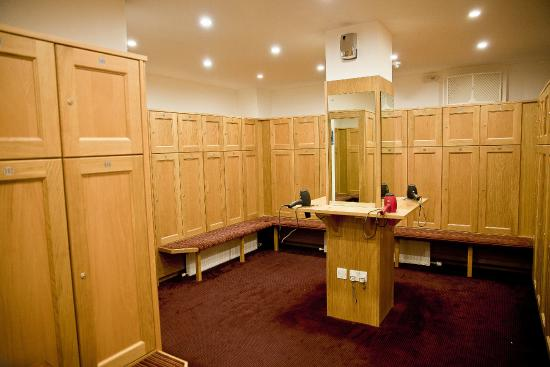 Cowden, UK: Ladies changing rooms