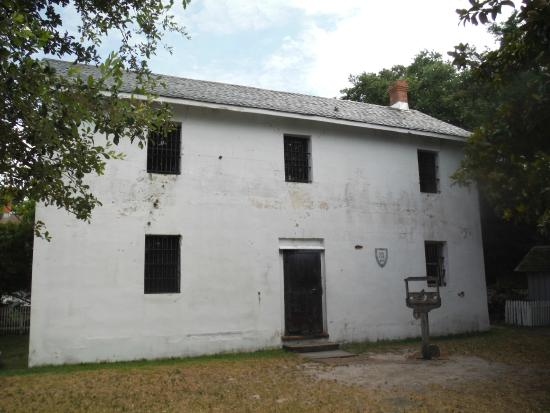 Beaufort Historic Site Visitor Center and Museum: Old Jail circa 1829