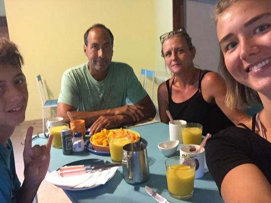 Las Lajas, Panama: Desayuno