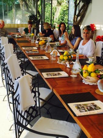 Mamma Agata - Cooking Class : Main dining table