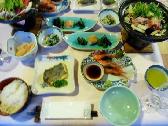 Resort Hotel Rosenheim Hakuba: 夕食