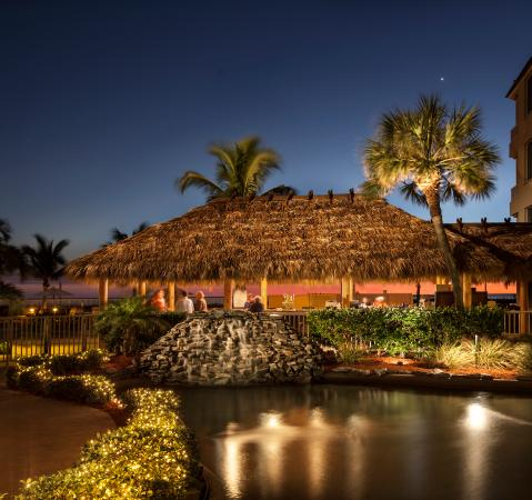 Lido Beach Resort: Our Beach Side Tiki Bar