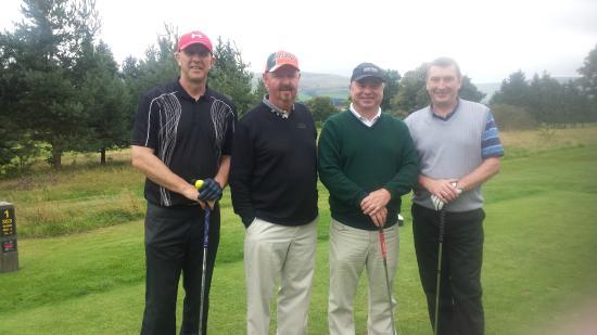 Auchterarder Golf Club: TEAM 1