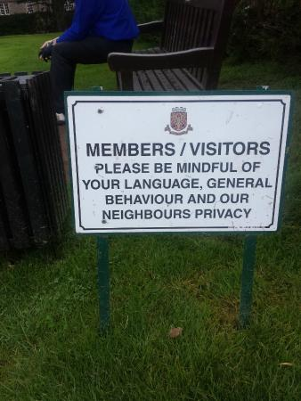Auchterarder Golf Club: Did they know we were coming!?!?!?!