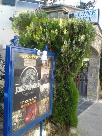 Samos Town, Grecia: Entree hoofdstraat Mitilinii