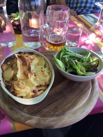 Hotel le Marronnier: Gratin de ripioupiou