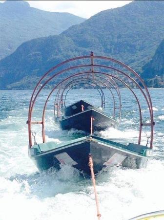 Ristorante Terrazza Barchetta: Barchetta ossia la Lucia del lago di como