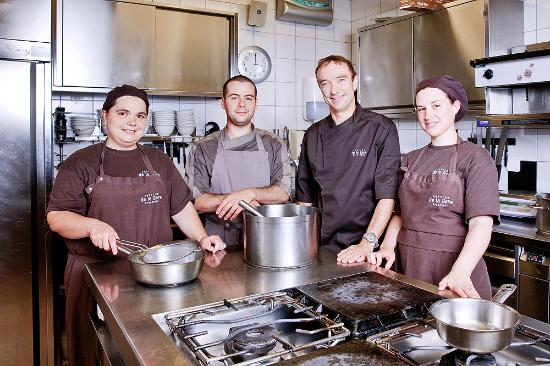 Auberge de la Gare : equipe cuisine
