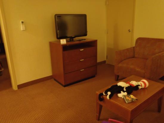 Comfort Inn Near Fort Bragg: Living Room Area in King Suite