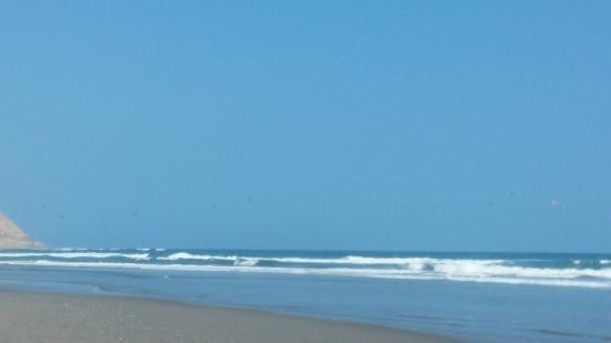 Asia, Perú: playa....