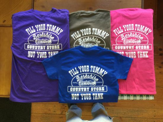Norfolk, CT: Fill your Tummy not Your Tank T-shirts