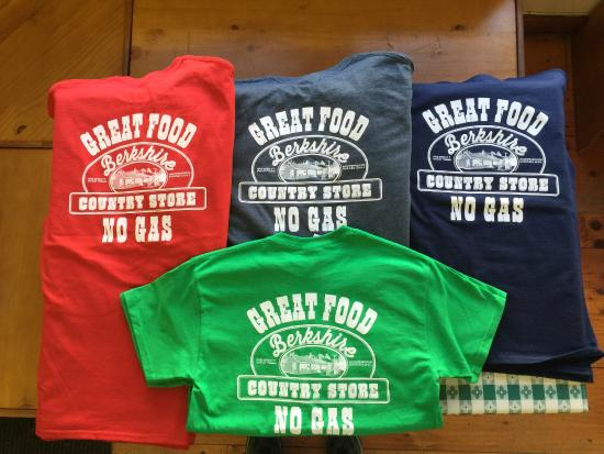 Norfolk, CT: Great Food No Gas T-Shirts on sale