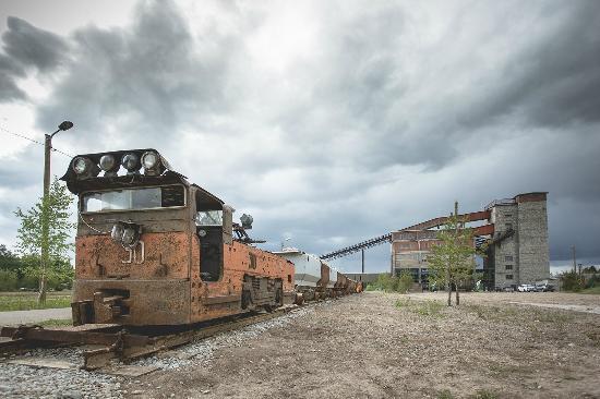Ida-Viru County, Estonia: Kohtla mining park