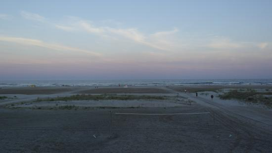 Lampliter Oceanside Resorts: Relaxing after a long day at the beach, this is your view from chair outside your room!