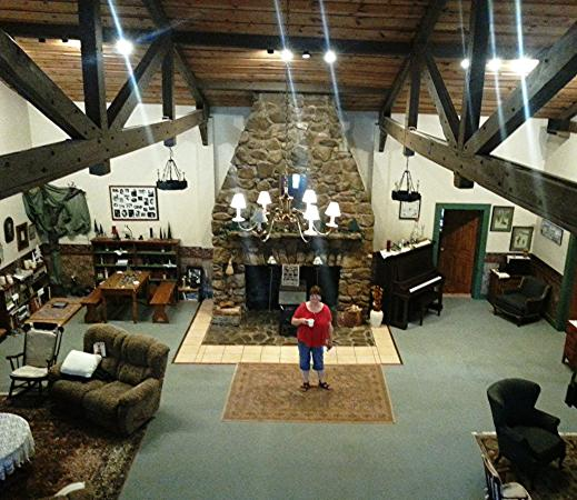 Keezletown, VA: The Great Room inside the original Lodge, you have to see it yourself....!