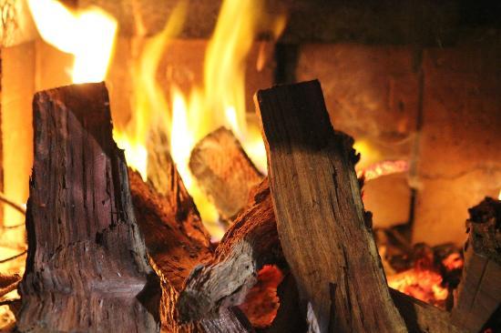 Karridale, Avustralya: Pot belly fireplace