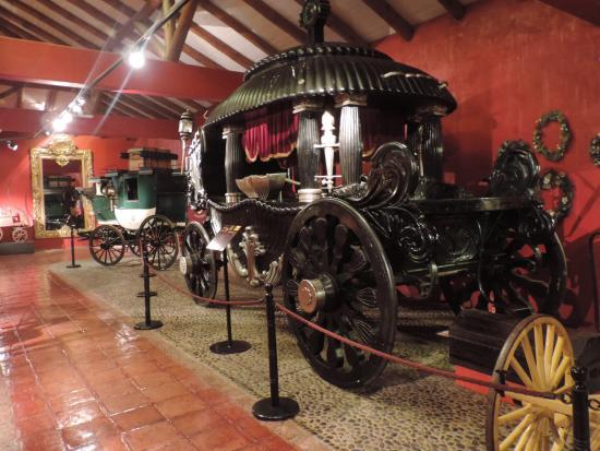 Colchagua Museum: Colección de carruajes