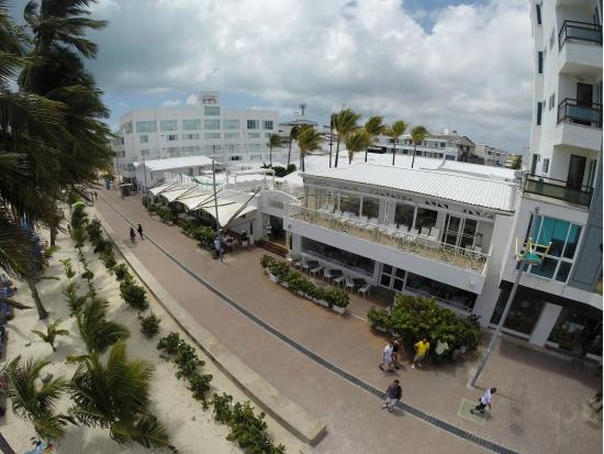 Sea Watch Cafe : Vista aerea