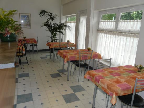 Hotel De Rouen: Salle petit-déjeuner