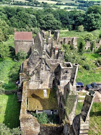 South Wingfield, UK: Another view from the tower
