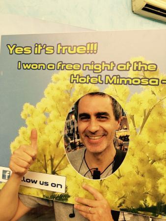 Hotel Mimosa: Free Night