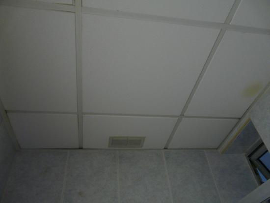 Hotel Fortina : Stains on ceiling