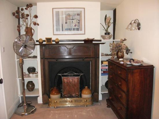 The Merchant House B & B: This 'sitting area' adjoins the bedroom