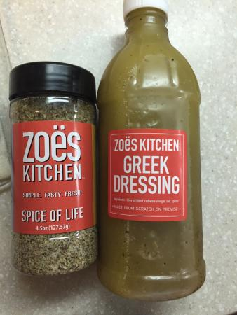 Greek Salad Amp Sandwich Combo Picture Of Zoes Kitchen