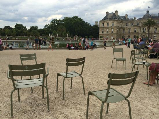 Paris, França: Stolene i parken