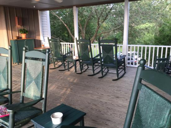Roanoke Island Inn: The views