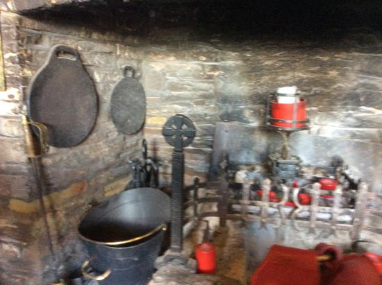 Skirrid Mountain Inn: Look out for the bake stones !