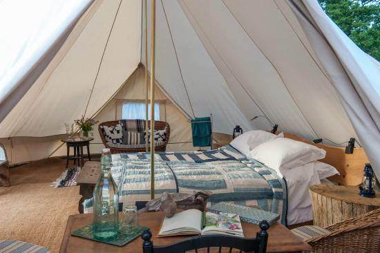 Knepp Wildland Safaris Nightingale Emperor Tent & Nightingale Emperor Tent - Picture of Knepp Wildland Safaris Dial ...