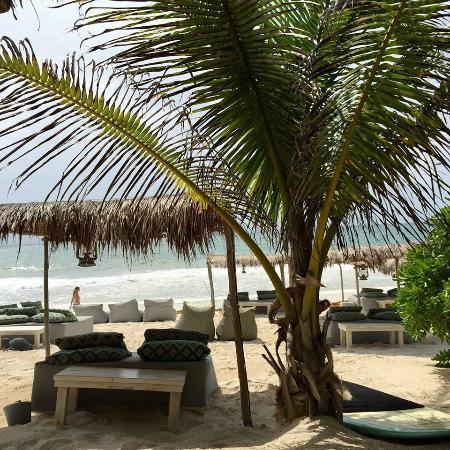 Be Tulum Hotel: The beach club