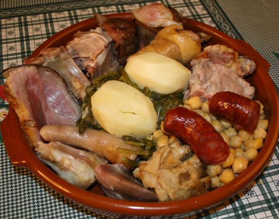 Museo Etnográfico Casa Do Patron: Cocido de Lalin