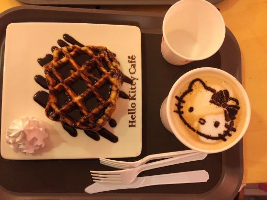 Photo of Restaurant Hello Kitty Cafe Sinchon at 서대문구 명물길 36-6, Seoul 03777, South Korea