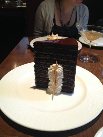 23 layer cake Picture of Michael Jordans Steak House Chicago