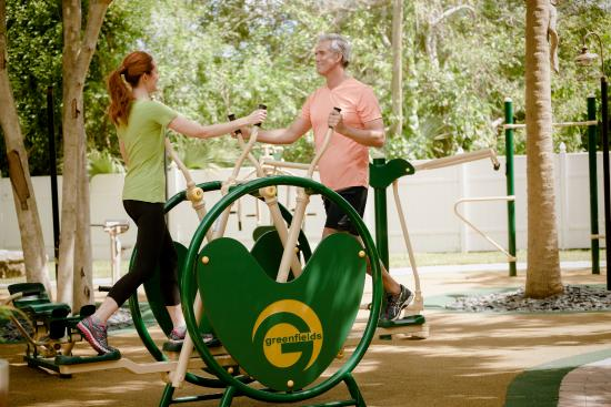 Hippocrates Health Institute: Outdoor Fitness Park