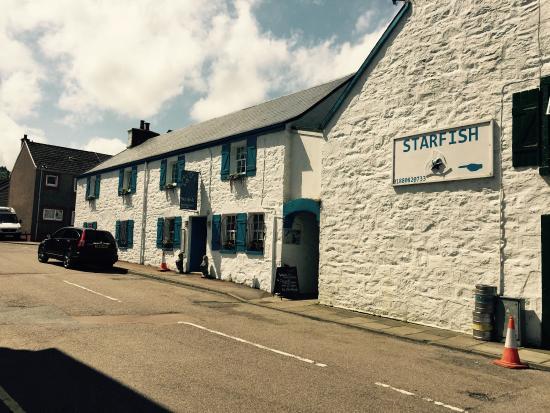 Starfish Restaurant: Seafood platter