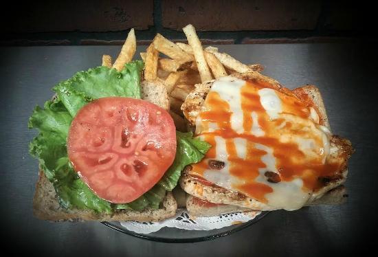Mary Esther, FL: Buffalo Chicken Sandwich